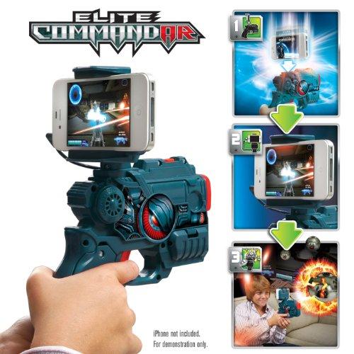 WowWee 0140 - App Gear Elite Commandar, Spielzeugpistole für die Spiele-App