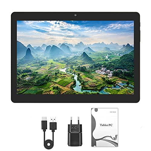 Tablet PC de 10 Pulgadas con Android 10, 4GB RAM + 64GB ROM, 1280 * 1080, extensión de 128GB, batería de 8000mAh, Dual SIM | Wi-Fi | GPS | Bluetooth. …