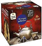 Ship - Té Negro Pakistaní - Infusión con 15 Pirámides - Contiene Propiedades Digestivas - Antihistamínico natural - Sabor Dulce - Infusión Digestiva - Proporciona Bienestar y Tranquilidad