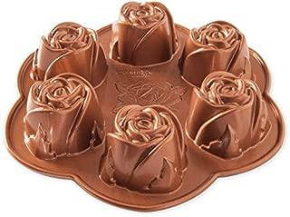 Nordic Ware Rosebud Baking Pan, Copper