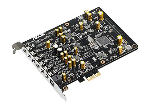 Asus Xonar Ae Interne 7.1 Canaux Pci-E - Cartes Sons (7.1 Canaux, 32 Bit, 110 Db, 103 Db, 24 Bits/192 Khz, 24 Bits/192 Khz)