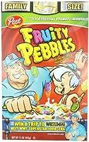ポスト フルーティーな小石穀物, 15-オンス ボックス (4 パック) Post Fruity Pebbles Cereal, 15-Ounce Boxes (Pack of 4)