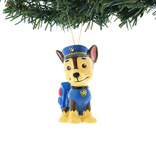 Nickelodeon Paw Patrol Kurt Adler Ornaments Gift Boxed (Chase)