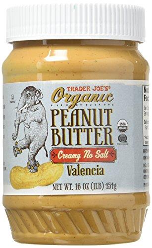 Trader Joe's Creamy No Salt Organic Peanut Butter...
