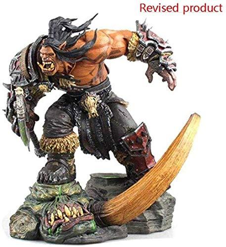World of Warcraft-Modell - Grom · Hellscream PVC-Figur Er ist eine Legende der Welt Er zeigt die außergewöhnliche Kraft der Orks und den Geist des Widerstands, der Niemals Sklave ist