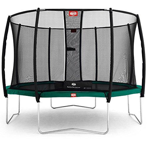 Berg Toys 35.09.03.00 Trampolin Favorit 270 mit Sicherheitsnetz Deluxe