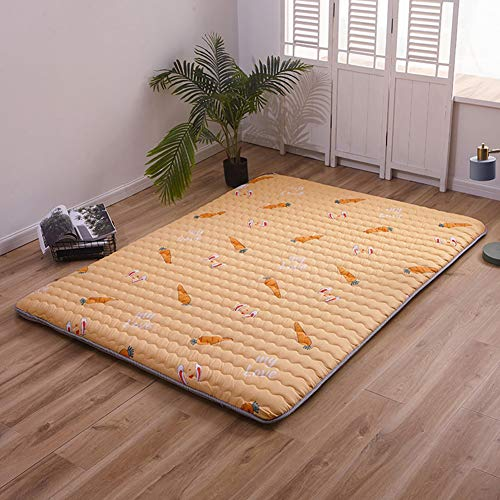 Best Buy! DGPOAD Soft Not-Slip Thicken Japanese Futon Mattress, Japanese Floor Mattress Folding Tata...