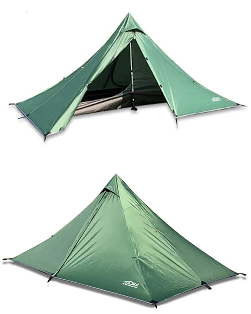 待つ打倒英語の授業がありますSMILES ワンポールテント ティピーテント テント 1-2人用 蚊帳付き 軽量 コンパクト ソロキャンプ