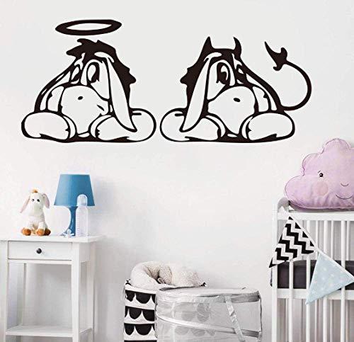 Dessin Animé Mur Voiture Ordinateur Portable Stickers Enfants Chambre Véhicule Winnie L'Ourson Ordinateur Mural Voiture Autocollant Vinyle Décor