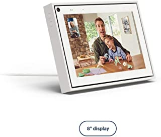 Facebook Portal Mini Smart Video Calling 8� Touch Screen Display with Alexa White