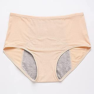 Xieifuxixxxneik Underwear for women Leak Proof Panties Pants Women Underwear Period Cotton Waterproof Briefs Plus Size Fem...