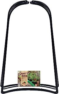 Gardman 07376 Single Stem Plant Support-Large, Black, 9 x 9