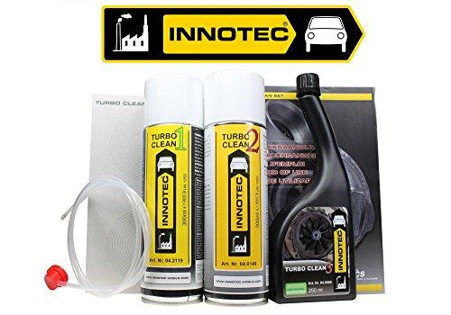 Innotec Turbo Clean Set für alle Turbodiesel Motoren Turbo Reinigung Set