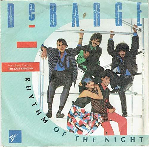 Debarge Rhythm Of The Night 7' Gordy TMG 1376 EX/EX 1985 picture sleeve