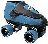 VNLA Junior Code Blue Jam Skate for Men and Women - Outdoor and Indoor Unisex Roller Skate (US Men 11 / US Women 12)