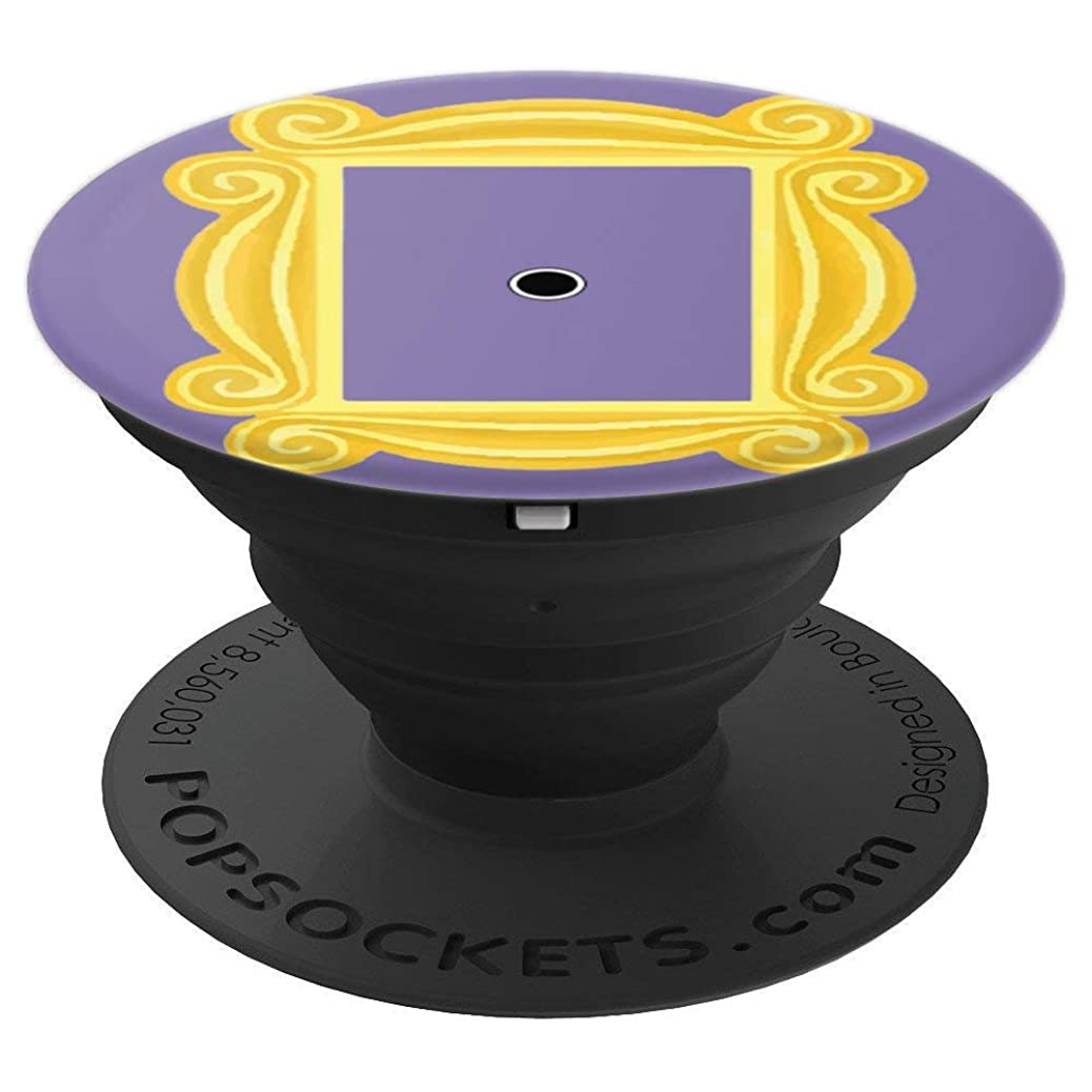 Purple Door Yellow Frame Peephole Vintage Fun Gift - PopSockets Grip and Stand for Phones and Tablets ddxdjhxafu