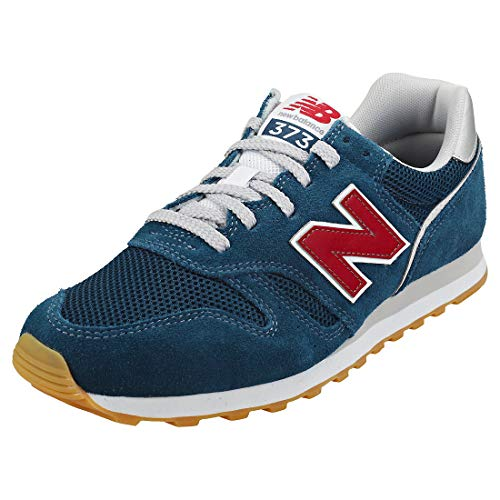 New Balance 373 ML373EC2 Medium, Zapatillas para Hombre, Blue (Rogue Wave EC2), 43 EU