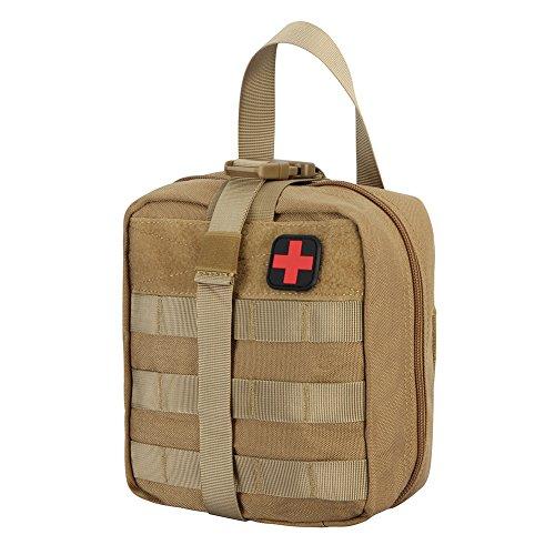 Ajudy Rip-Away EMT Tasche Coyote First aid Pouch (Khaki)