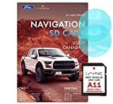 Original SD Card GPS Navigation for Car Ford Lincoln A11 Latest Update Voice Turn Direction Guidance,Support Speed and Red Light Warning Pre-Installed US, Mexico,Canada + South America Maps