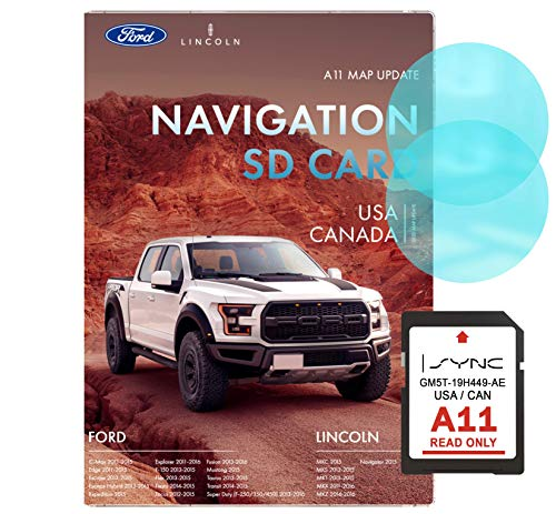 Ford A11 Navigation SD Card | Latest Update 2020 | Ford Navigation SD Card for USA and Canada