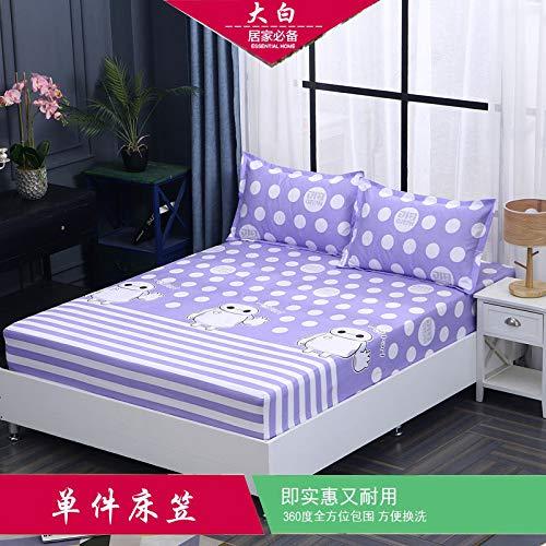Huyiming gebruikt voor dekbed, 1,8 cartoon antislip, beschermhoes, leuk stofbescherming, simmons matras, uniek exemplaar