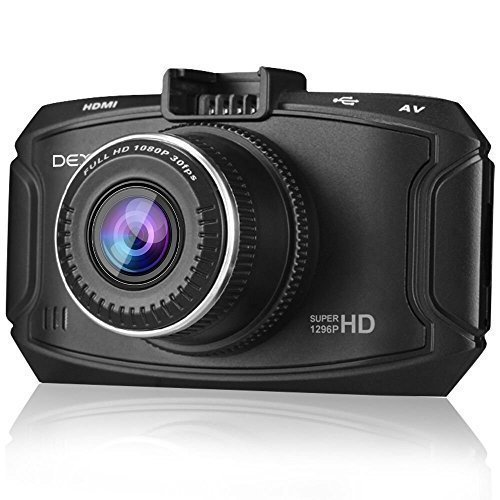 Dexors X7 Dash Cam - 2.7 inches LCD Ambarella A7 2K 1296P Full HD 1080P Dash Camera Car DVR with...