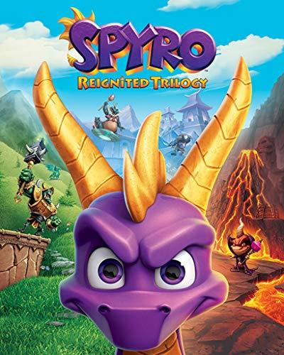 Spyro The Dragon The Dragon Mini Poster Game Cover Art, 40 x 50 cm