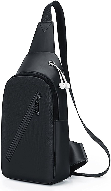 Brust Männer Casual Diagonal Männlichen Tasche Umhängetasche Oxford Tuch Tasche Leinwand (Farbe   schwarz) B07F64R8CZ | Umweltfreundlich