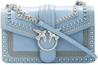 Luxury Fashion | Pinko Womens 1P21Q7Y68KE81 Light Blue Shoulder Bag | Spring Summer 20
