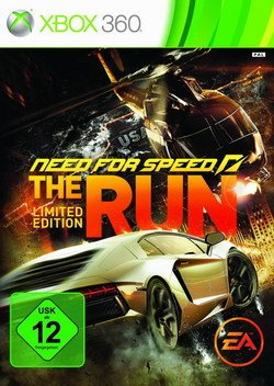Need for Speed The Run Limited Edition X-Box 360