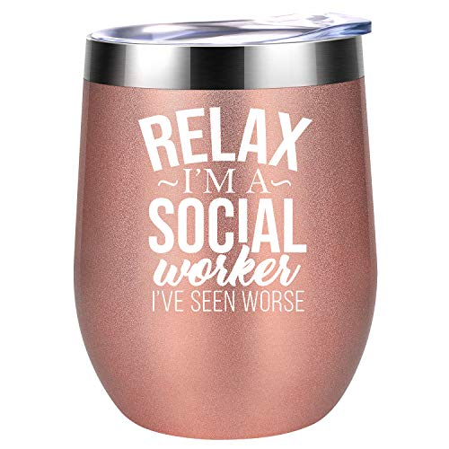 Social Worker Gifts for Women - Rel…