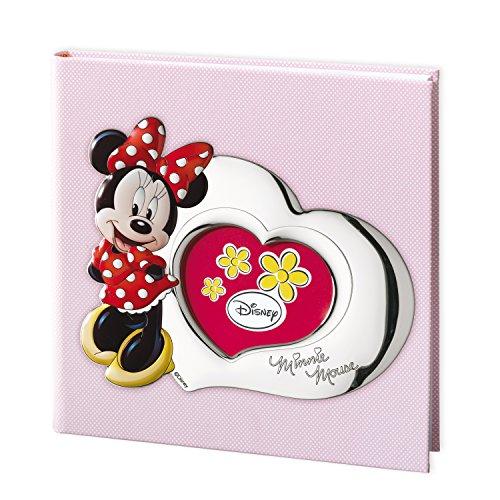 Valenti & Co Album imprimé avec technique 3D Argenté Motif Disney Minnie Mouse 30 x 30 cm
