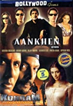 AAnkhen / Kohram (Double Feature) (Original Hindi Version - With Englsih options)