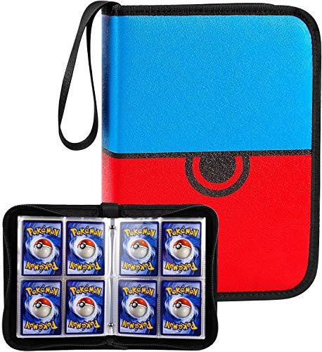 COMECASE Karten Tragen Tasche Album für Pokemon Card Game, Karten Halter, Pokemon Karten Halter Album Ordner Buch, Pokemon Sammel GX EX Karten Album.