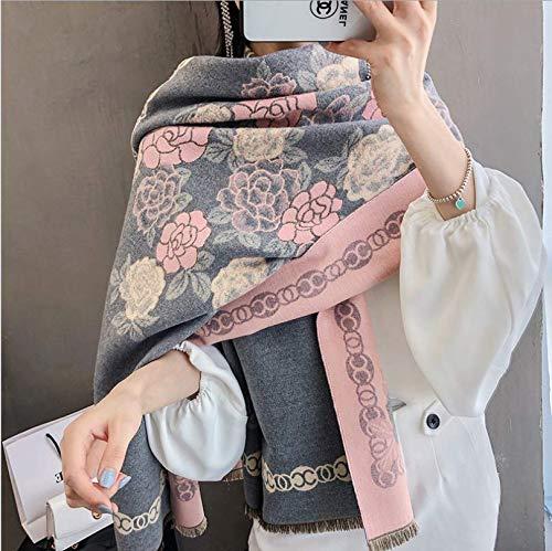 Sportinggoods herfst en winter imitatie kasjmier patroon sjaal dames lang deel dikke retro print sjaal een handdoek met meer warme sjaal