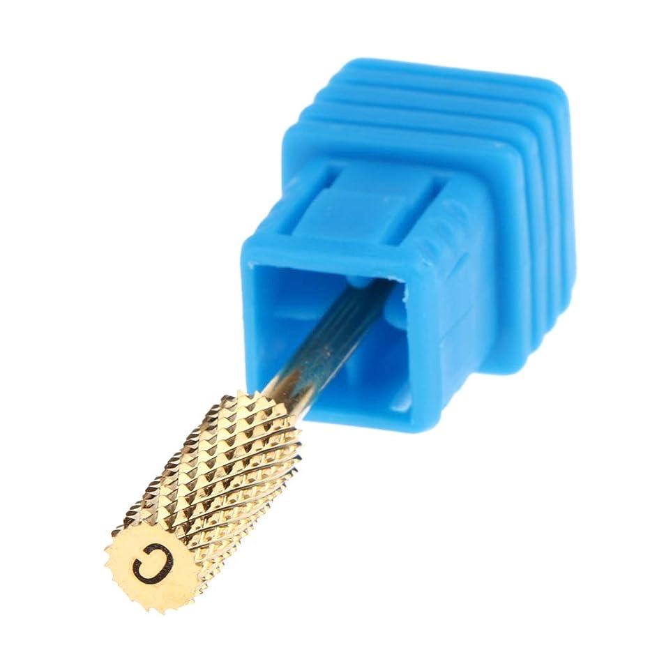 誘導リスキーなゴムCUTICATE 4サイズ選ぶ マニキュア ペディキュア ネイルケア用 電気マニキュアドリルビットヘッド - C
