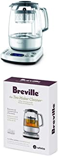 Breville BTM800XL One-Touch Tea Maker with Breville BTM100 Revive Organic Tea Cleaner for Breville BTM800XL Tea Maker
