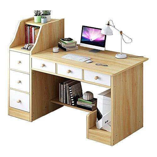 Escritorio para computadora, estaciones de trabajo para computadora, computadoras y accesorios, mesa para computadora portátil duradera, estación de trabajo de escritura para niños y adultos