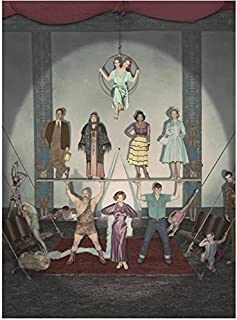 American Horror Story Freakshow Cast with Jessica Lange Performing 8 x 10 Inch Photo