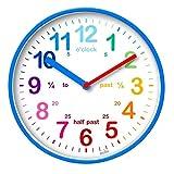 Acctim 22529 Wickford Kids Wall Clock in Blue