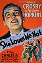 She Loves Me Not Movie Poster (27 x 40 Inches - 69cm x 102cm) (1934) -