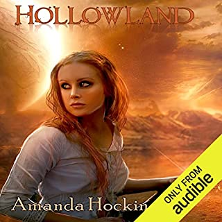 Hollowland audiobook cover art