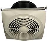 Broan-Nutone  504  Exhaust Fan, White Vertical Discharge Ceiling Ventilation Fan, 6.5 Sones, 350 CFM, 10'