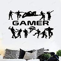 Gamer Gaming Poster Etiqueta De La Pared Pegatinas De Habitación Para Niños G...