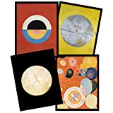 Wee Blue Coo Hilma Af Klint Modern Abstract Painting Svanen