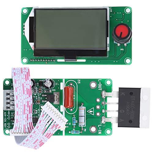 Módulo de soldadura de control de tiempo Placa codificadora de doble pulso LCD 100A para equipo de soldadura por puntos de paquete de batería de celda única
