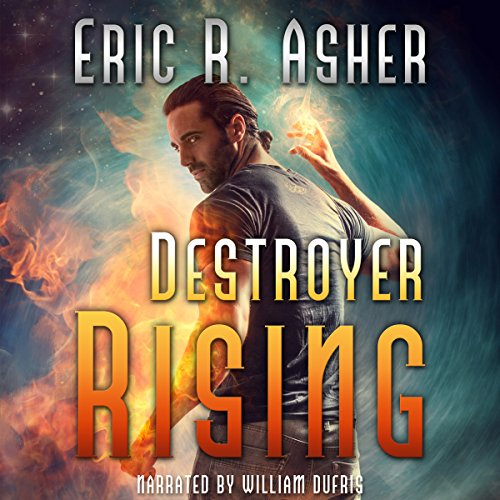 Destroyer Rising audiobook cover art