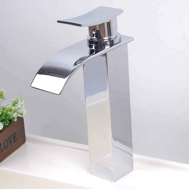Messing Chrom Retro Warmes und kaltes Wasser Einlochmontage Wasserhahn_Beschlge Heimwerker Einseitiges Waschbecken Kupfer