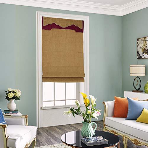 AMON LL verduisteringsrolgordijn jaloezie, licht schaduw gordijn venster schermen luiken moderne stijl decoratie voor raam slaapkamer