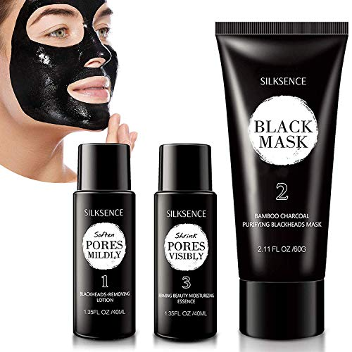 NEW Upgraded 3-Step Blackhead Treatment System - Blackhead Mask Blackhead Remover Mask With...